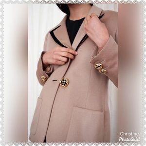 *1980s Valentino Camel Wool Blazer*